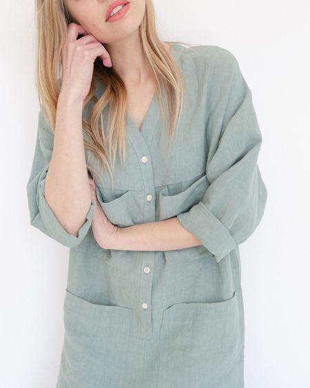 Ilana Kohn Tuck Coverall - Jade