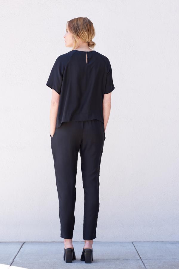 Kamperett Stratus Silk Raglan Shirt