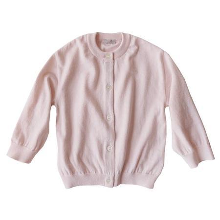 KIDS Makié Julia Round Neck Cardigan - Pink