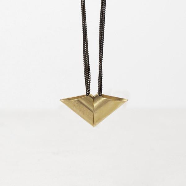 7115 by Szeki Arrow Tube Necklace