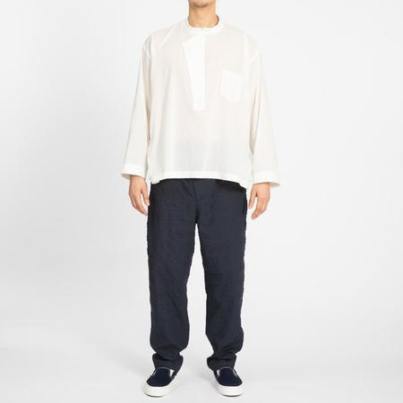 S.K. Manor Hill Li Shirt - Translucent Natural