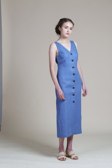 Paloma Wool Alberti Dress - Soft Blue