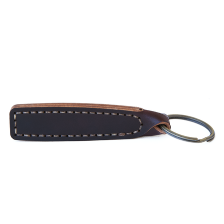 Unisex MAKR Stitch Turn Fob - Oxblood