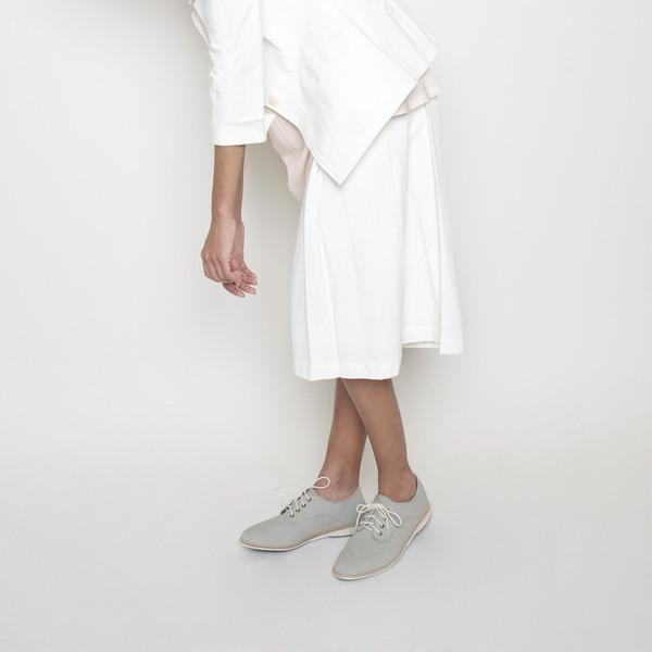 7115 by Szeki Linen Culottes R16- White