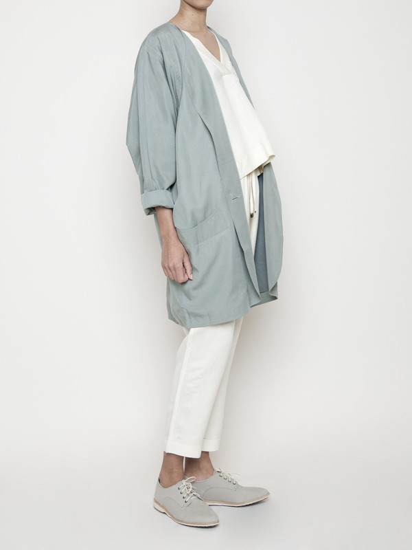 7115 by Szeki Spring Duster Coat