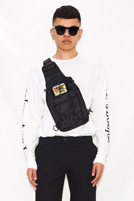 Assembly Nylon Sling Bag - Black