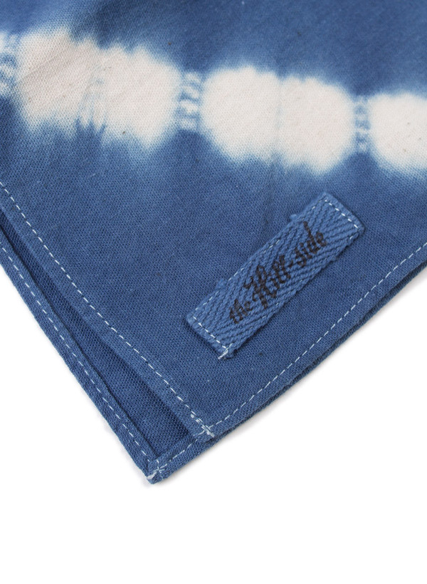 The Hill-Side Bandana Hand-Dyed Murakumo Shibori Selvedge Indigo