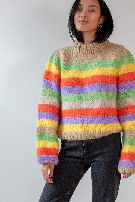 Ganni Julliard Sweater - Multicolor