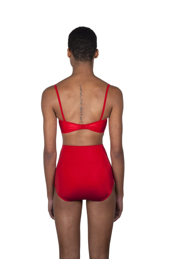 Minnow Bathers Shayne Bottoms - Red