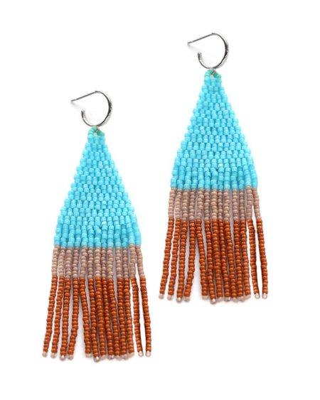 Bluma Project Franja Earring - Turquoise