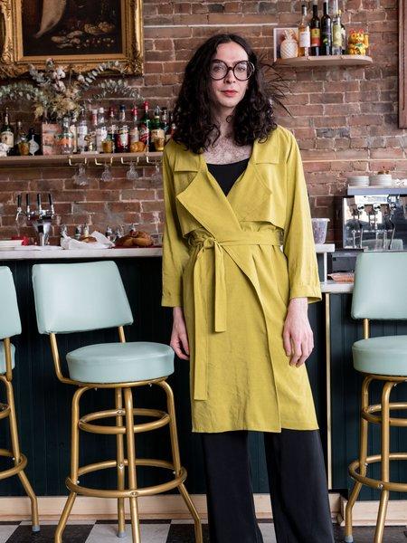 Eve Gravel Muscat Jacket - Lime