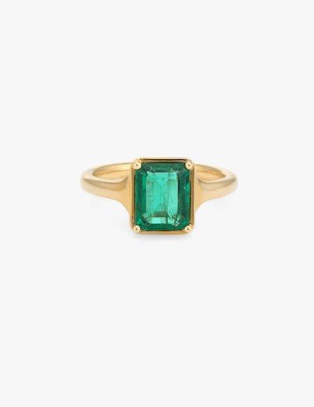 Kathryn Bentley Emerald Ring