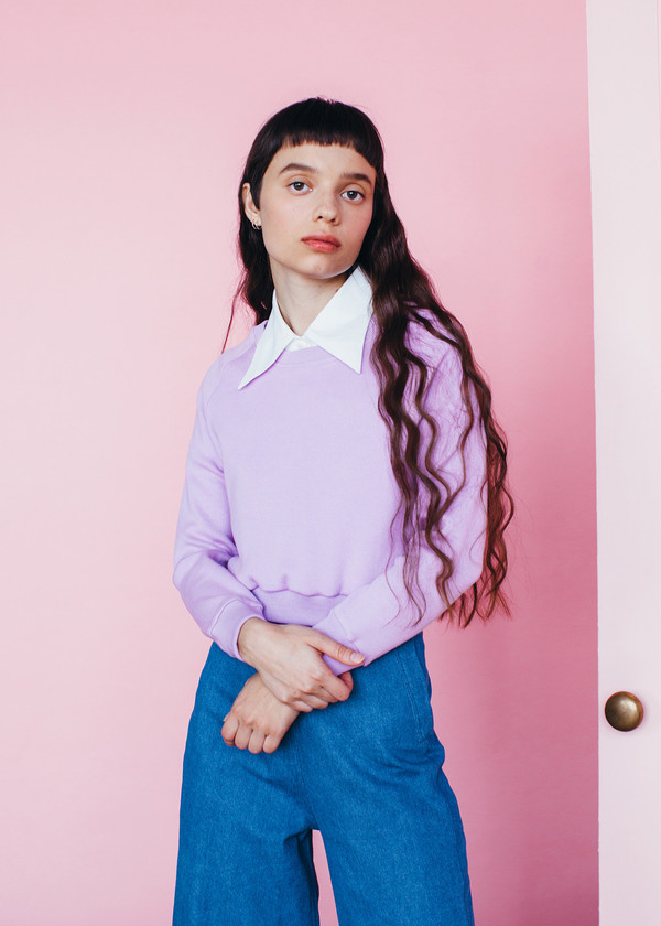 Samantha Pleet Cuddle Shirt - Lilac
