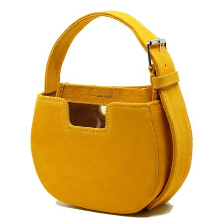 ALFEYA VALRINA Joe Joe Suede bag - Yellow Mustard