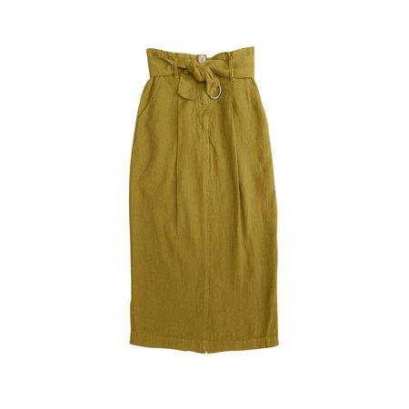 Nico Nico Ella D-Ring Skirt - Chartreuse