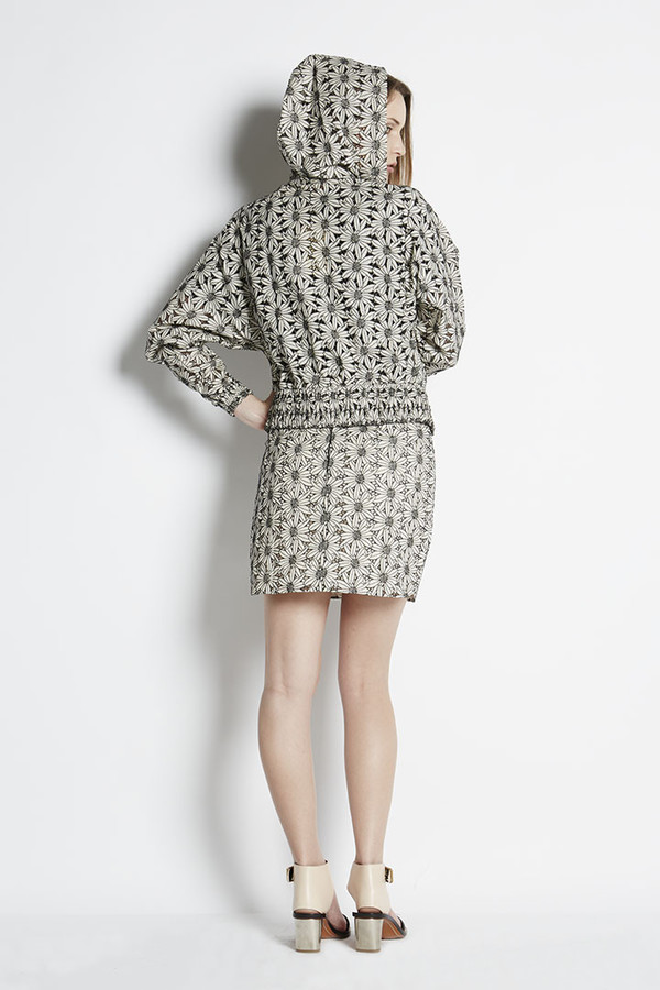 N/TICE Embroidered Lace Track Jacket
