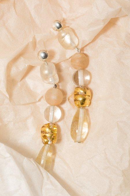 Cled Earrings - Golden Sunset