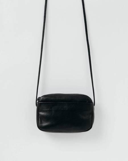BAGGU Leather Mini Purse - Black