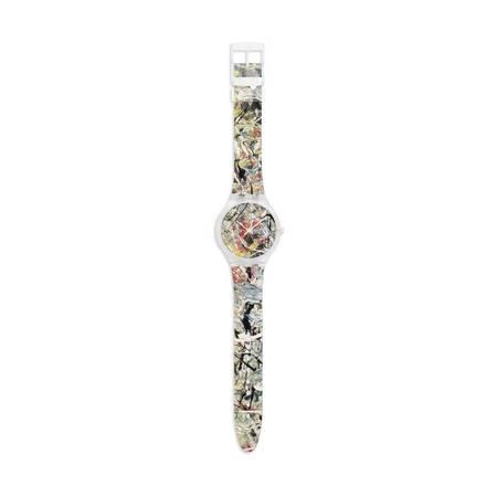 "MoMA Jackson Pollock ""White Light"" Watch"