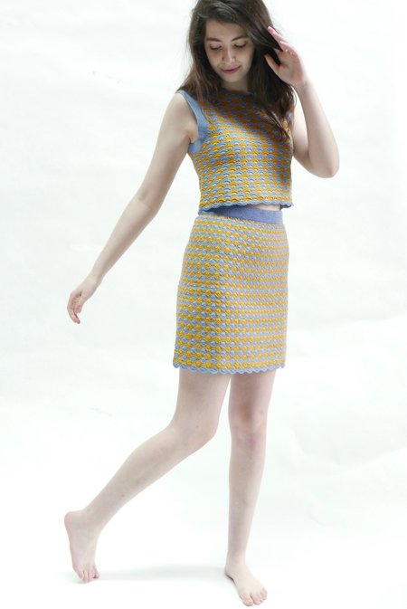 Rachel Comey Spore Skirt - Periwinkle