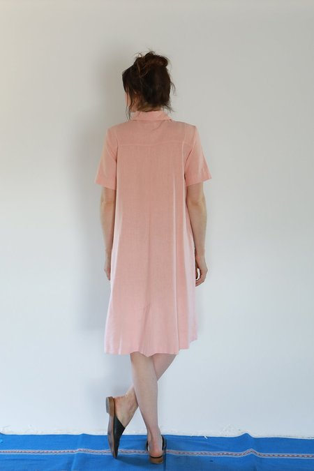 Me & Arrow SHORT SLEEVE LONG DRESS JACKET - CHERRY BLOSSOM