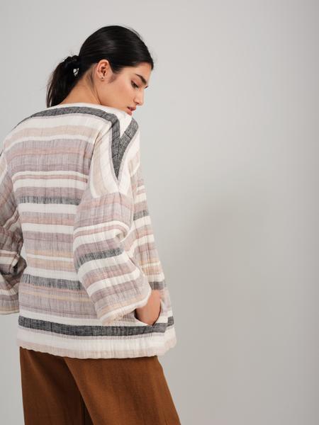 Odeyalo KAMEHA kimono - Stripes