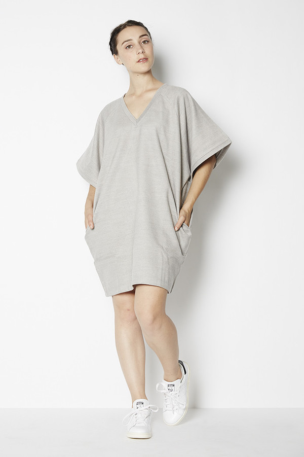 Blq Basiq Wool V-Neck Tunic