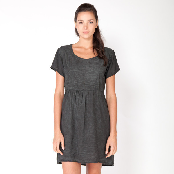 Parachute Gathered Tee Dress