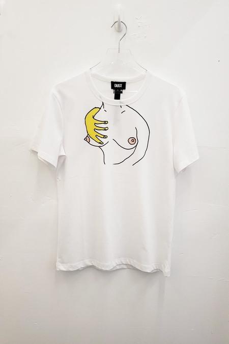 DUST STYLE A BOOBS t-shirt - white