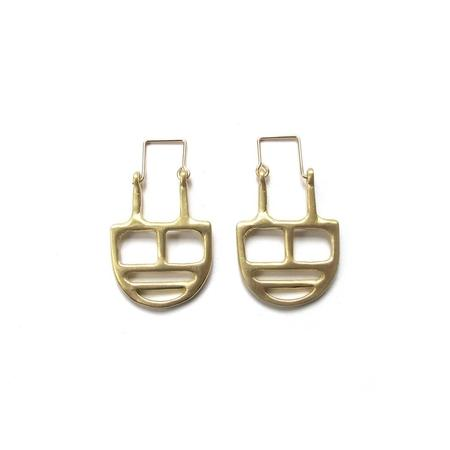 Goldluxe Jewelry Linear Earrings - Brass