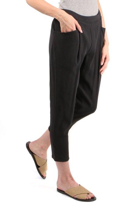 Evam Eva Double Easy Tuck Pants - Sumi
