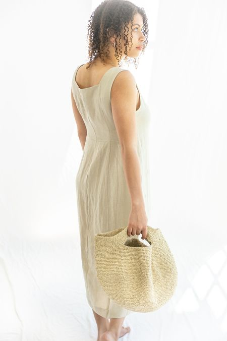 Lauren Manoogian Paint Bowl Bag - Eggshell