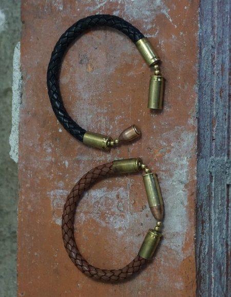 Tres Cuervos Leatherworks Tres Cuervos Centerfire Leather Cuff