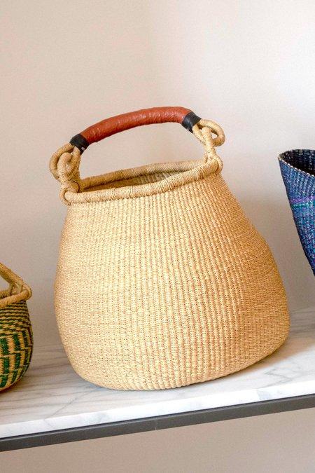 August Market Ghana Goods Large Basket