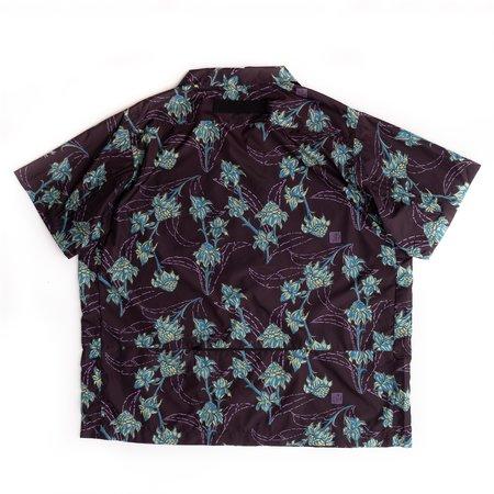 amongwonders Packable Porcelain Short Sleeve Shirt - Black