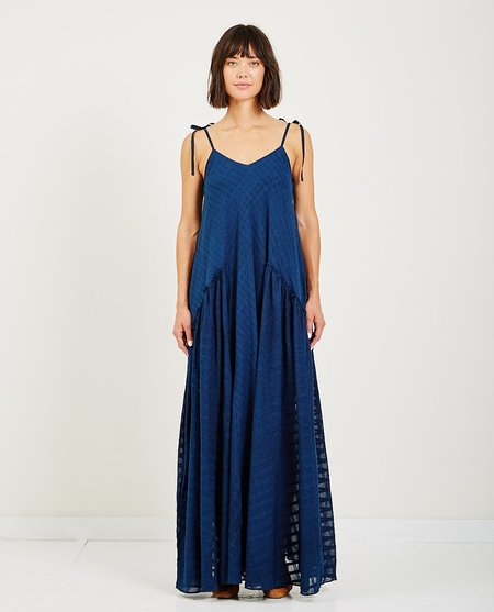 Mii Collection BLANC DRESS - INDIGO
