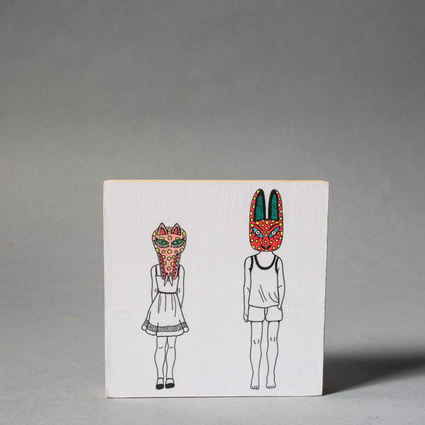 Carlos Baldizon Martini Masked Odd Couple
