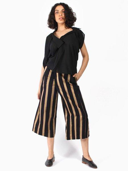 Henrik Vibskov Pound Pants - Black Stripe