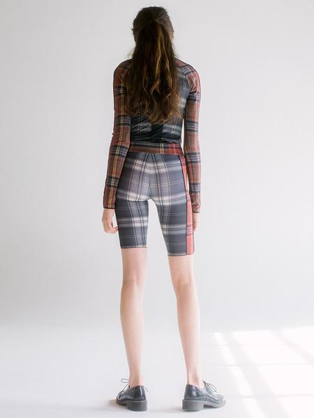 Linder Sabrina Flex Short - Black Plaid