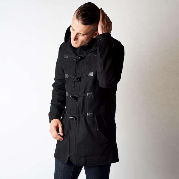Men's Wolf & Man Marious Coat