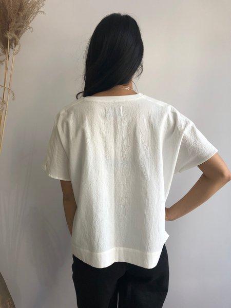 ODEYALO BRUME BLOUSE - WHITE