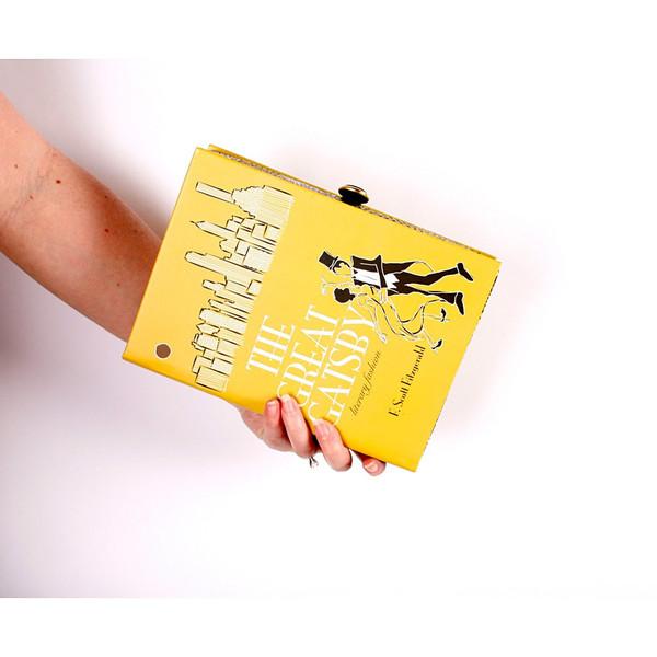 Chick Lit Designs Great Gatsby Book Clutch