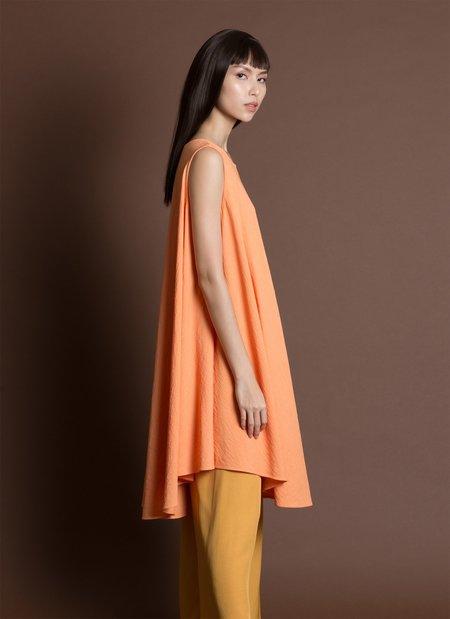 KAAREM Jade Tent Sleeveless Dress - Orange