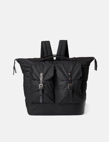 UNISEX Ally Capellino Frank Waxy Backpack - Black
