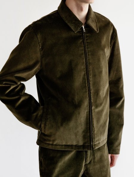 James Coward Jacket 004 - Corduroy Olive