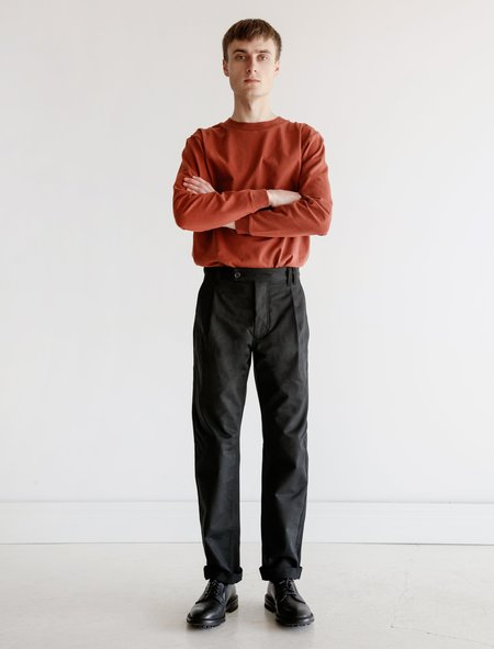 James Coward Heavy Drill Trouser 003 - Black
