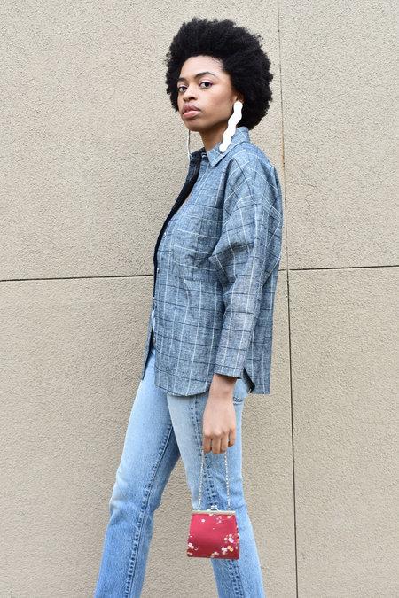 Study NY Shirt 1.1 - Dark grey check