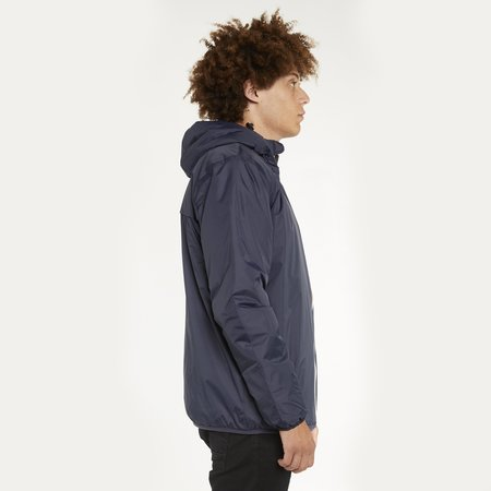 K-Way Le Vrai 3.0 Claude Orsetto Full Zip Padded Jacket - Blue Depth