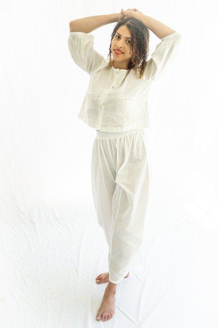Ilana Kohn Abe Pants - Chalk