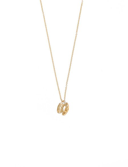 I Like It Here Club Charming Necklace - Gold Plated